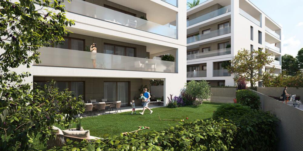 Appartamenti con giardino 6