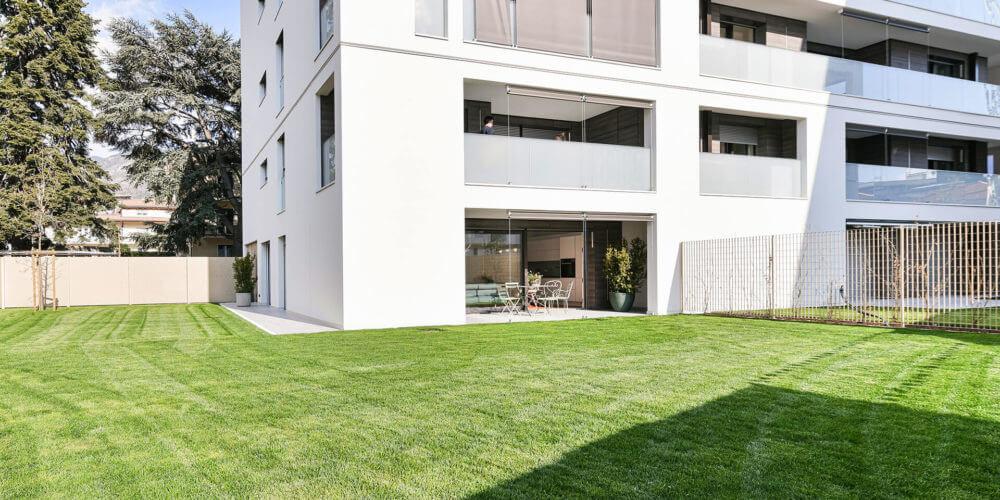 Appartamenti con giardino 3