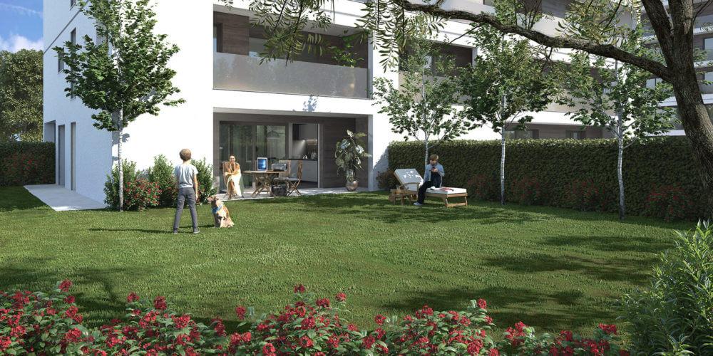 Appartamenti con giardino 1